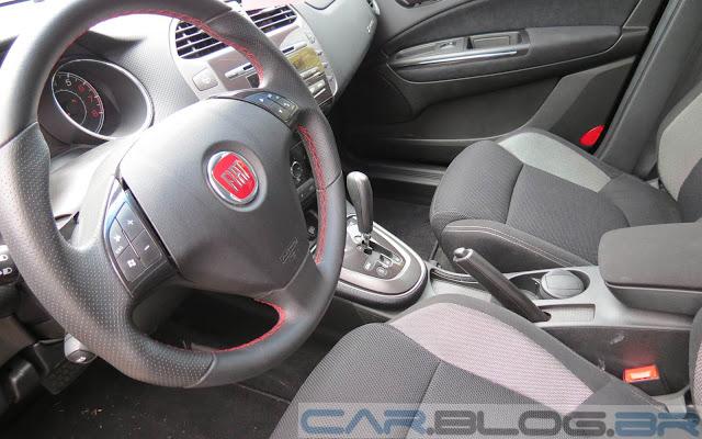 Fiat Bravo Sporting Dualogic 2014 - interior