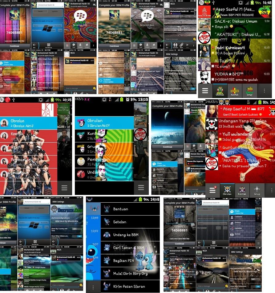 ics aplikasi bbm mod for ics jellybean terbaru nah berikut ini ...