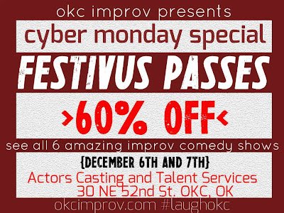 Buy $14 Festivus Passes Good Mon Dec 2 Only
