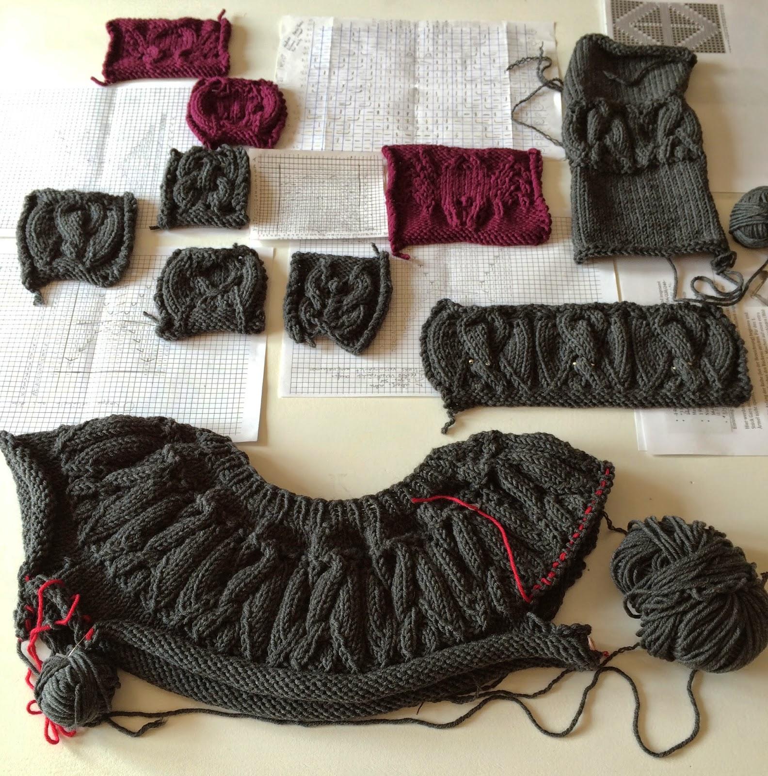 knit kit der lange weg zum fledermauspullover. Black Bedroom Furniture Sets. Home Design Ideas