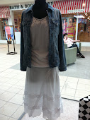 Jean Jacket+Long Skirt = A Must Have