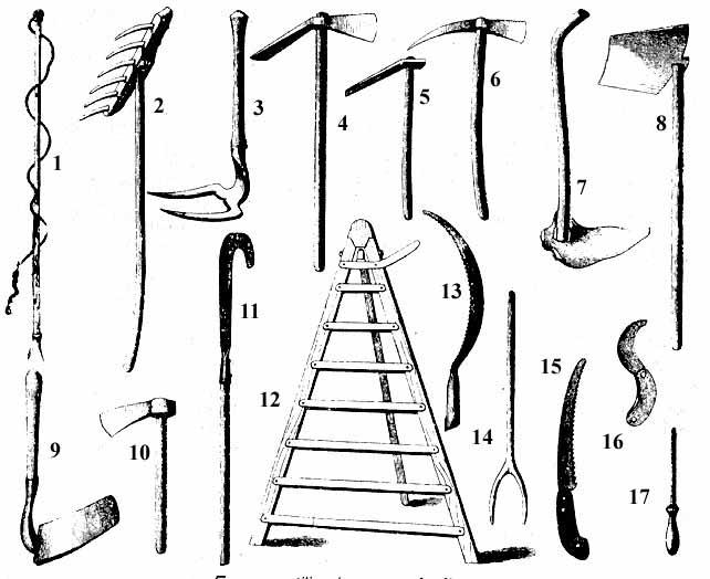Moncofa y sus tradiciones herramientas y actividades - Herramientas de campo antiguas ...