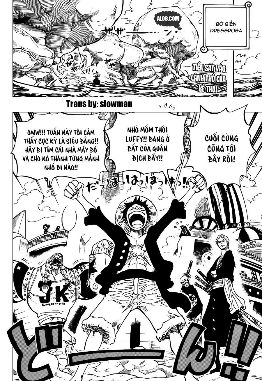 One Piece Chapter 701: Cuộc phiêu lưu ở đất nước của Tình yêu, Sự đam mê và Dồ chơi 002
