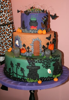 Halloween Cakes Pictures