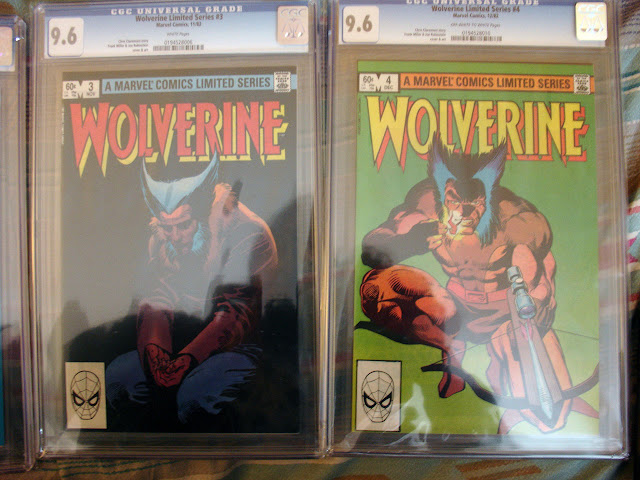 My Wolverine limited series 3 and 4 CGC 9.6 comic images