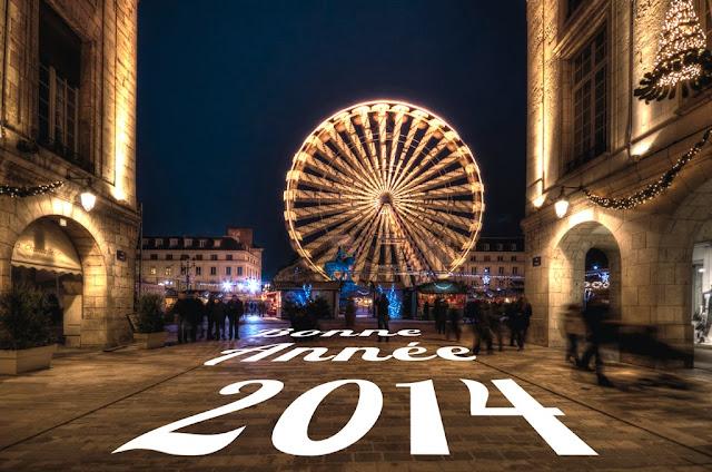 Bonne année 2014, Happy new year, Feliz año nuevo, Felice anno nuovo