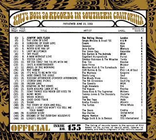 KHJ Boss 30 No. 155 - June 19, 1968