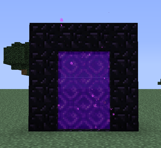 how to build the end portal 1.11.2