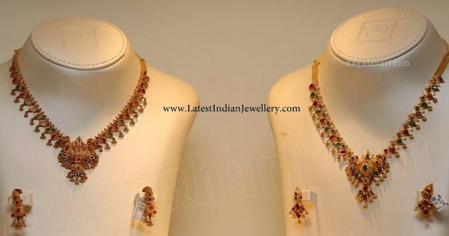 Gold Muvvala Necklace Designs