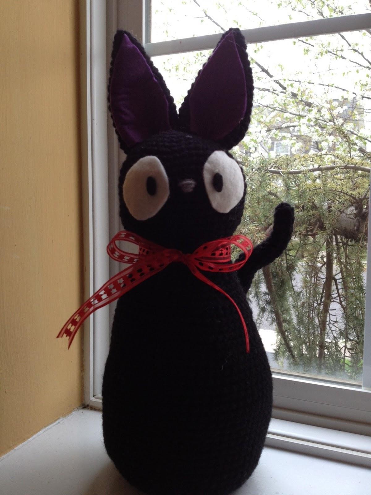 Amigurumi Pattern Free Rabbit : Agnes Gurumi: JiJi Door Stopper