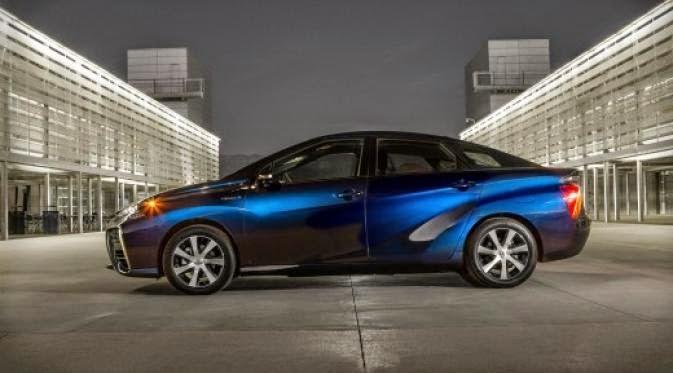 mobil hidrogen toyota