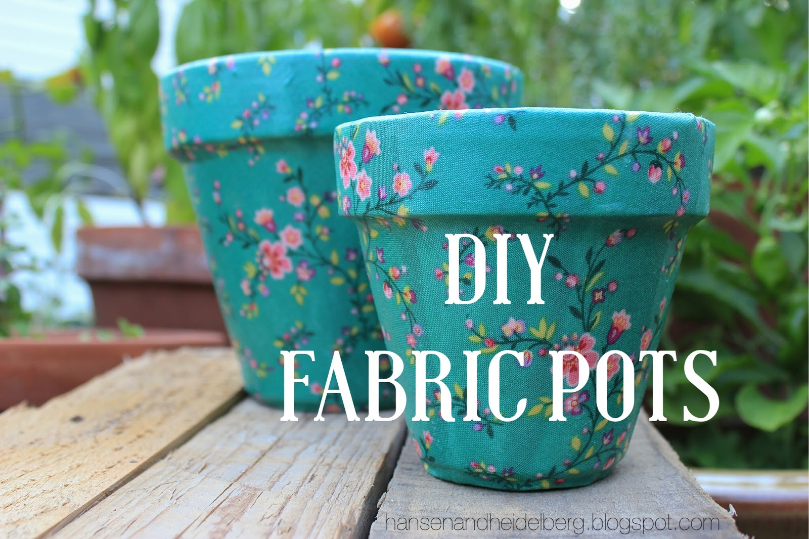 diy garden crafts, diy fabric pots, fabric pots, diy gifts
