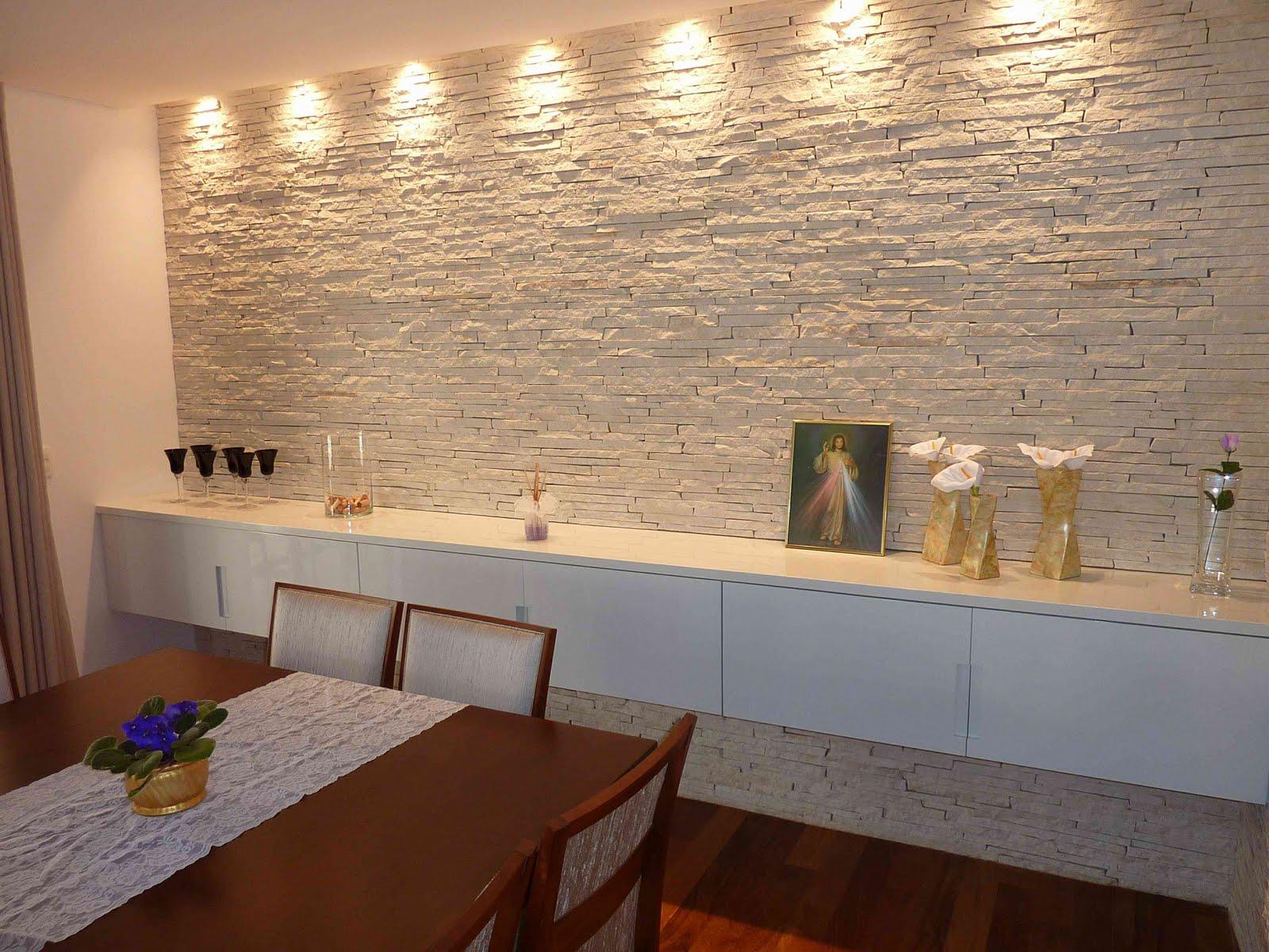 Parede Com Ceramica Para Sala Para Quartos De Beb Confira Dicas E  -> Painel De Sala Com Ceramica
