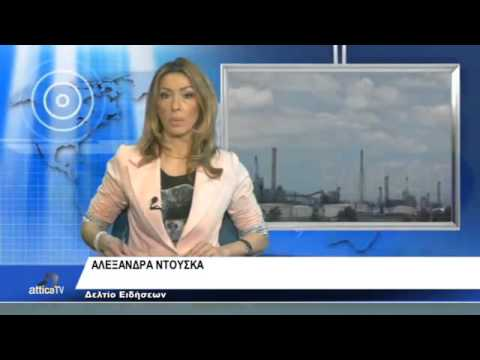 ATTICA TV ASPROPYRGOU  THE JOURNALIST ALEXANDRA DOUSKA