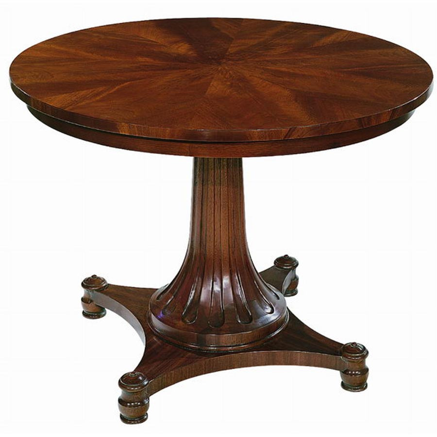 Maison newton yearning for a round library table part 2 for Pedestal table