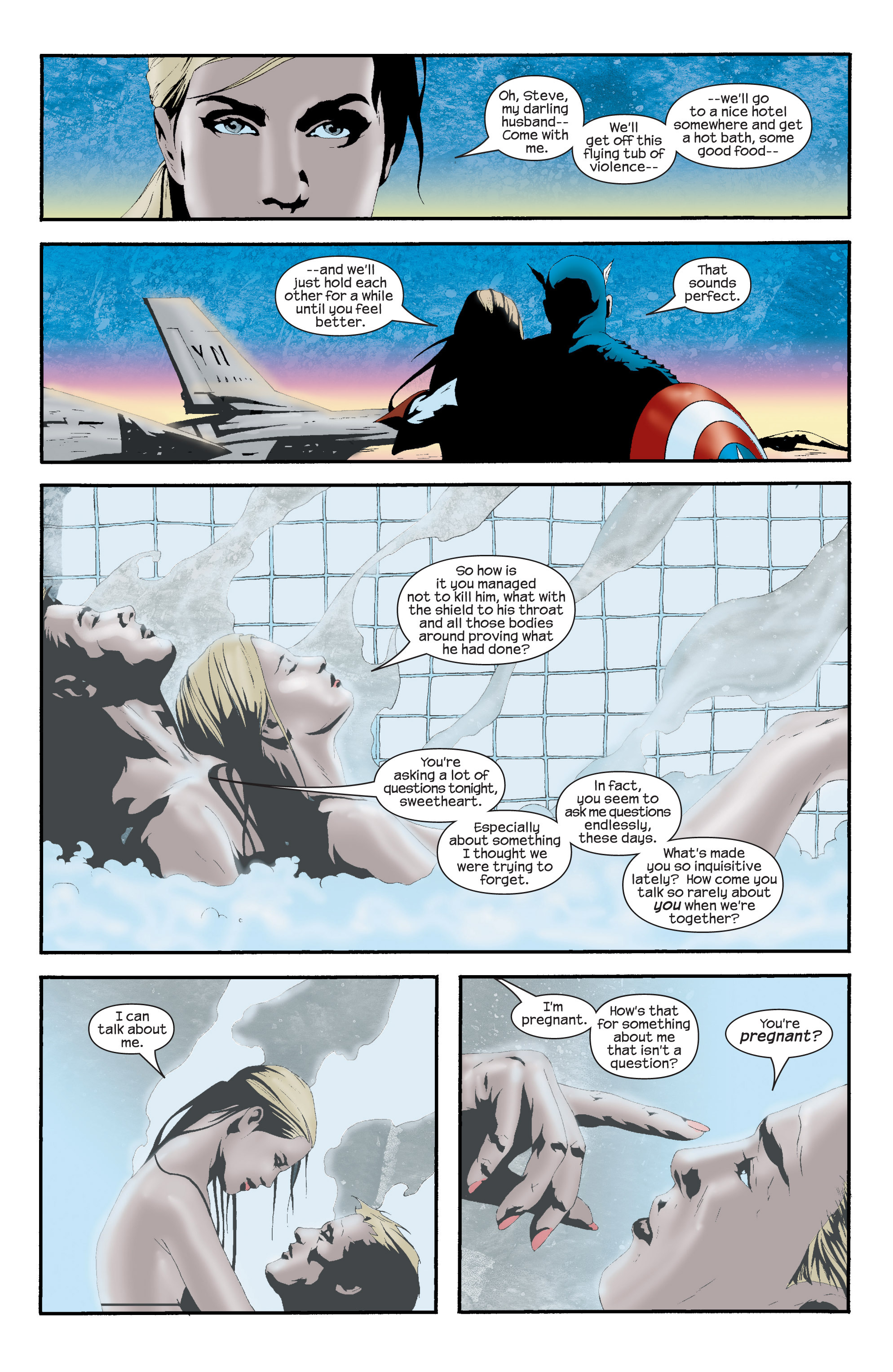 Captain America (2002) Issue #16 #17 - English 16