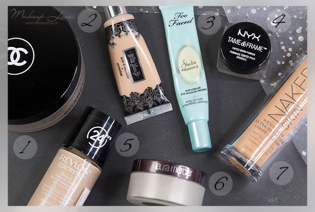 Beauty Jahresfavoriten 2015 Chanel Urban Decay Kat von D Revlon too faced laura mercier NYX