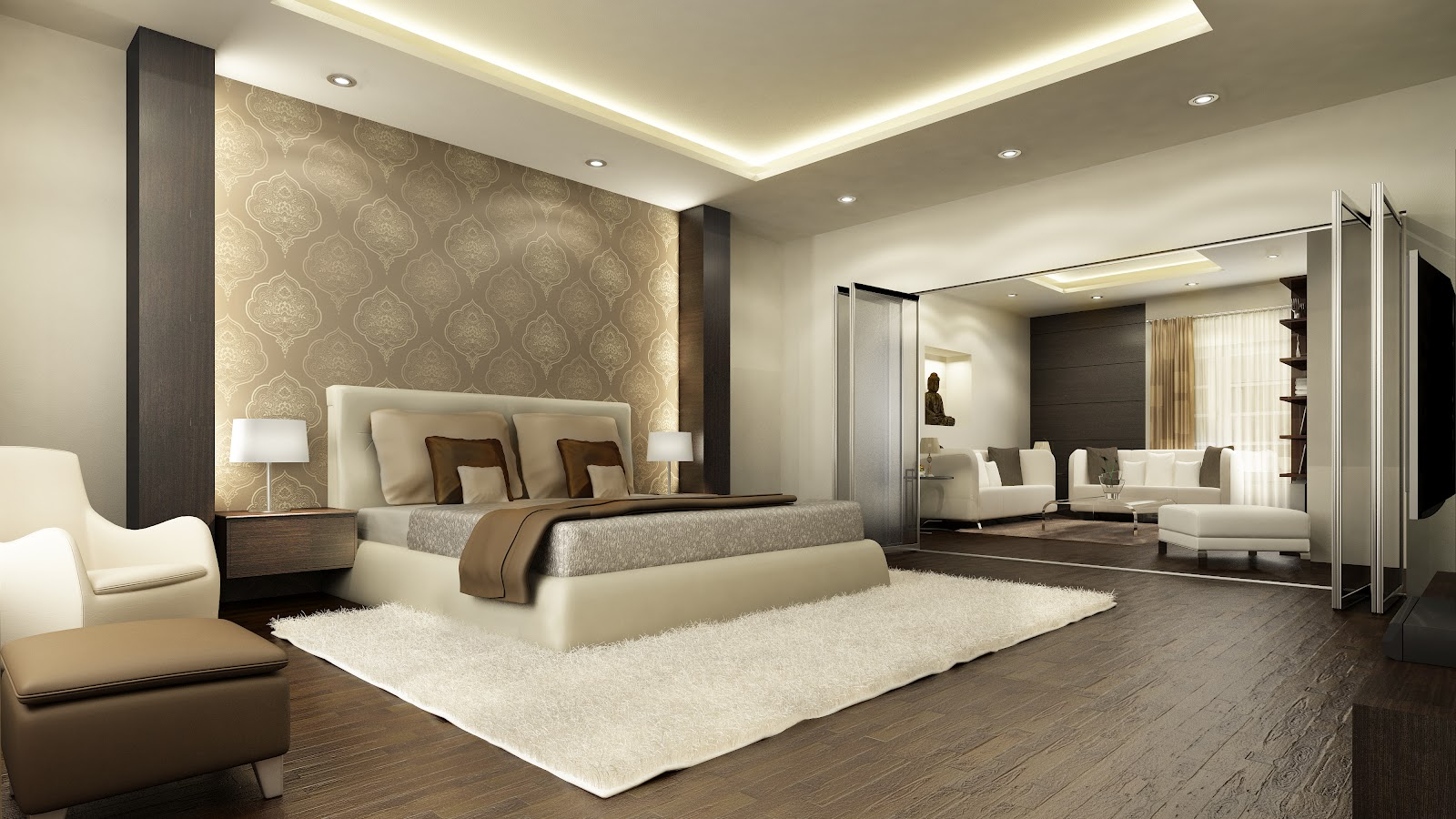 Buy luxury property flats homes for sale for Interior decorating ideas for master bedroom