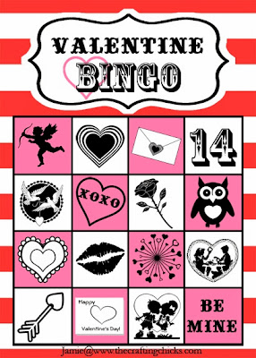 Free and Printable Valentine's Day Bingo Cards For Kids 4