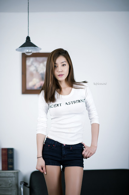 3 Simple Yoo Ha Na - very cute asian girl - girlcute4u.blogspot.com
