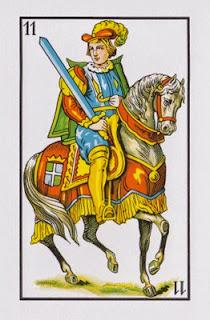 Caballo de Espadas baraja española