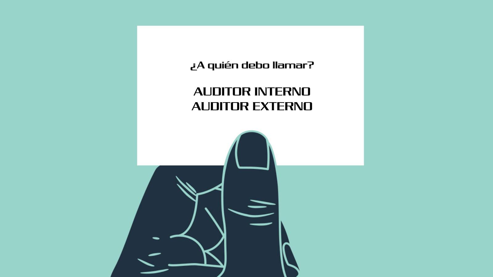 Auditoria Interna y Externa Informatica Auditoría Interna y Externa