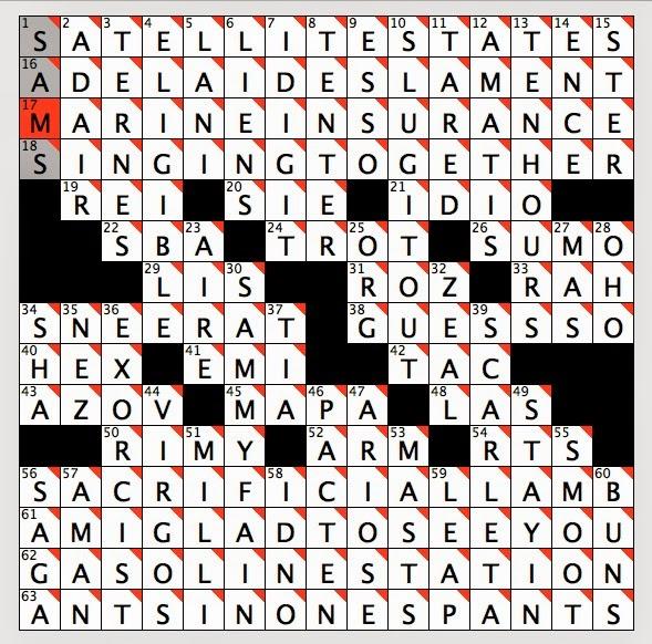 Friday April 4 2014  sc 1 st  Rex Parker - blogger & Rex Parker Does the NYT Crossword Puzzle: Third Watch actress ... 25forcollege.com
