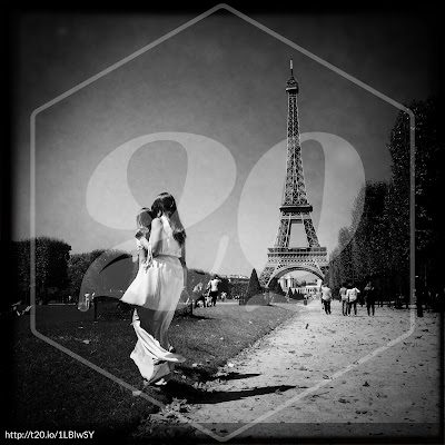 My Paris in black and white