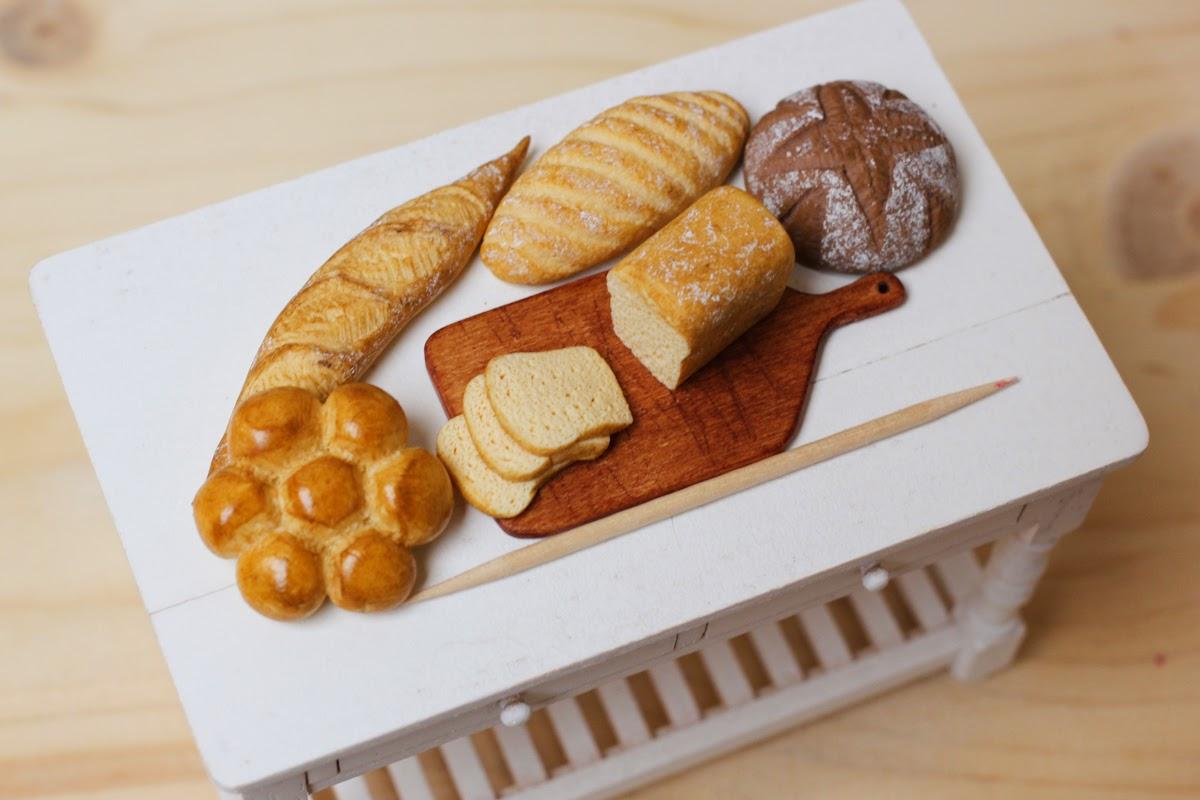 How to to sculpt miniature bread / Apprenez à sculpter du pain miniature