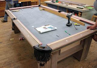 Изготовление стола бильярдного своими руками