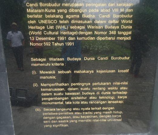 Candi Borobudur sebagai Warisan Budaya