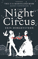 The Night Circus by Erin Morganstern book cover