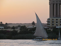 The iconic Nile River faluca sailboat (Aswan, Egypt)