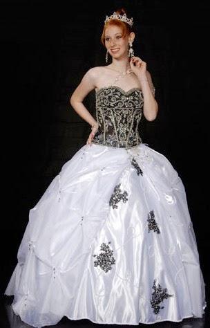 vestido corselet preto e branco - dicas e fotos