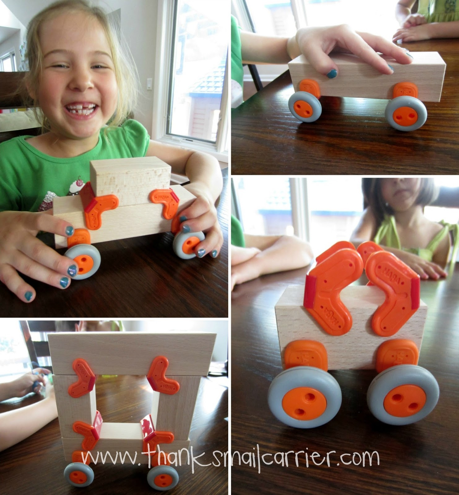 building block cars