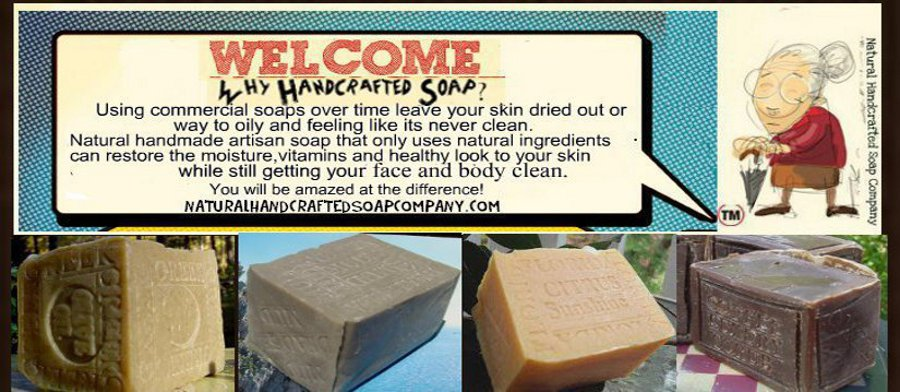 All Natural Handcrafted Soap
