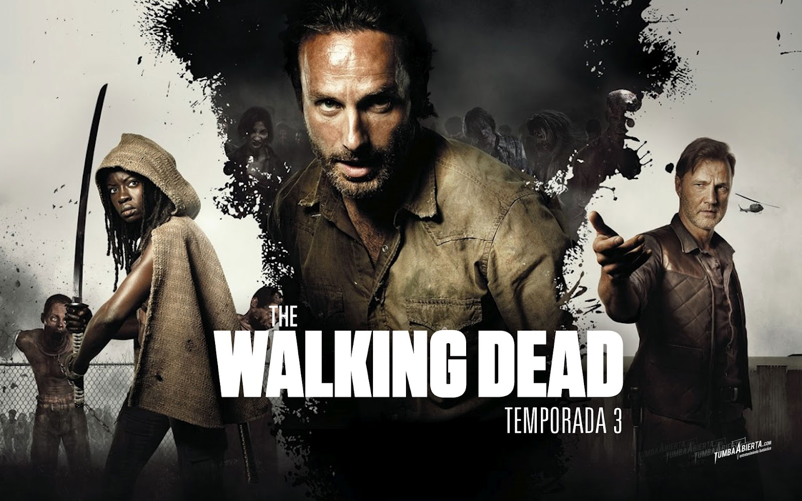 THE WALKING DEAD TERCERA TEMPORADA | Todos los Capitulos ONLINE