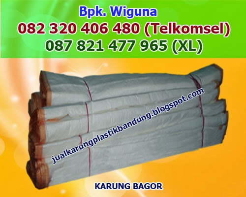 Jual Karung Bagor Bandung, Karung Bagor Murah, Produsen Karung Bagor
