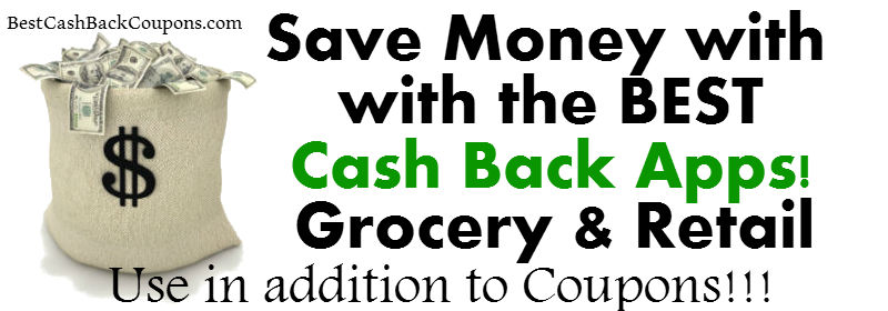 Best Cashback Apps Grocery & Retail!