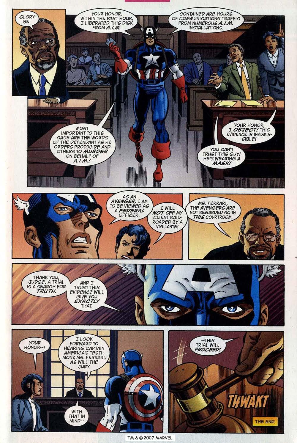 Captain America (1998) Issue #40 #47 - English 33
