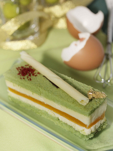 Green Tea Cake Roll Calories