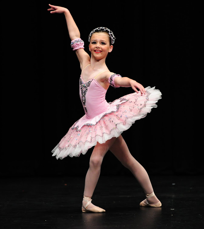 Lycra ballet tutu Jessica F Ballarat 2012 under 10 classical solo