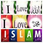 I love Allah, Muhammad, and Islam