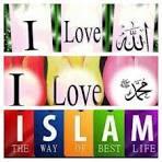I love Allah, Muhammad, and Islam