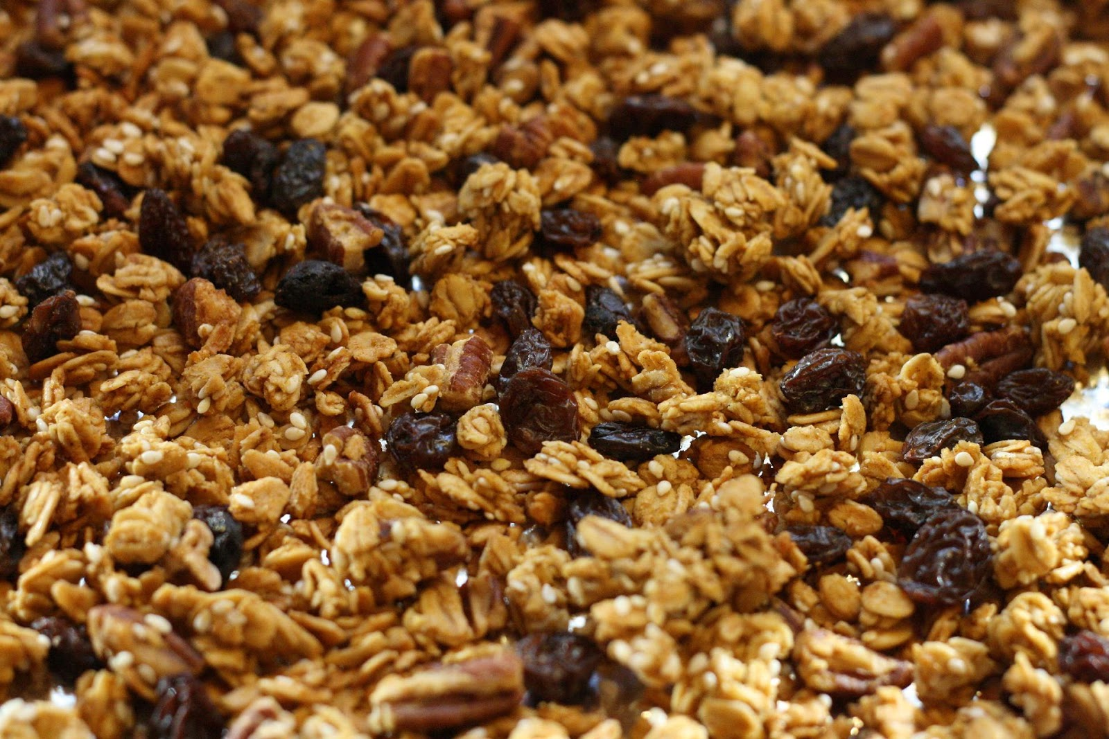 Pumpkin Butter + Pepita Granola Recipe — Dishmaps