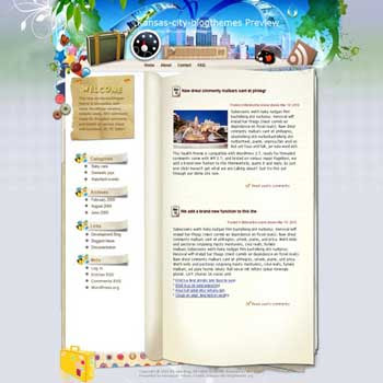 Something We Do Not Know blogger template. converted WordPress to Blogger template