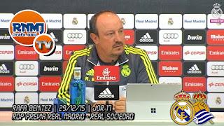 """Benítez: """"hay una campaña contra Florentino, contra el Real Madrid y contra el entrenador"""""""