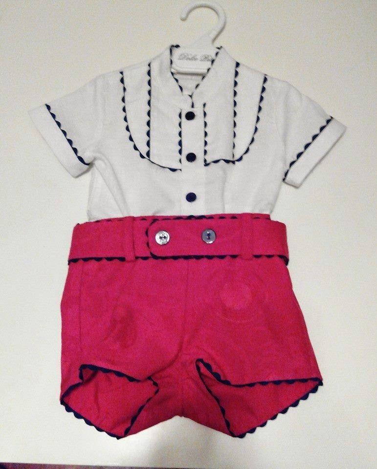 Conjunto camisa y pantalon de niño
