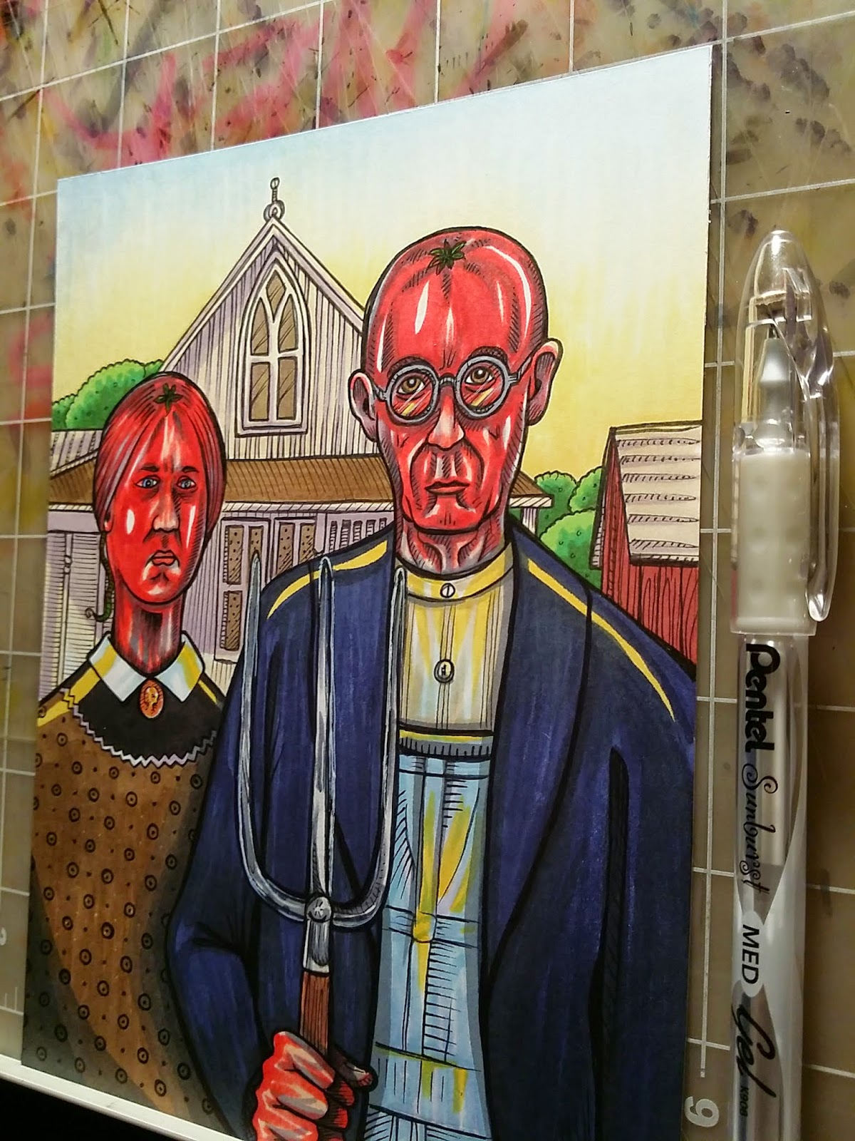 Roma American Gothic A Preview Of Tomato Art Fest This Weekend