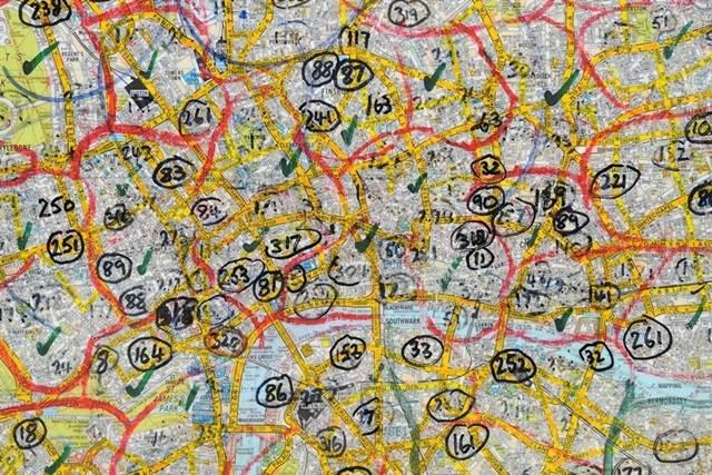 peta bandar london